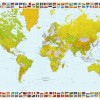 Map of the World № 00655